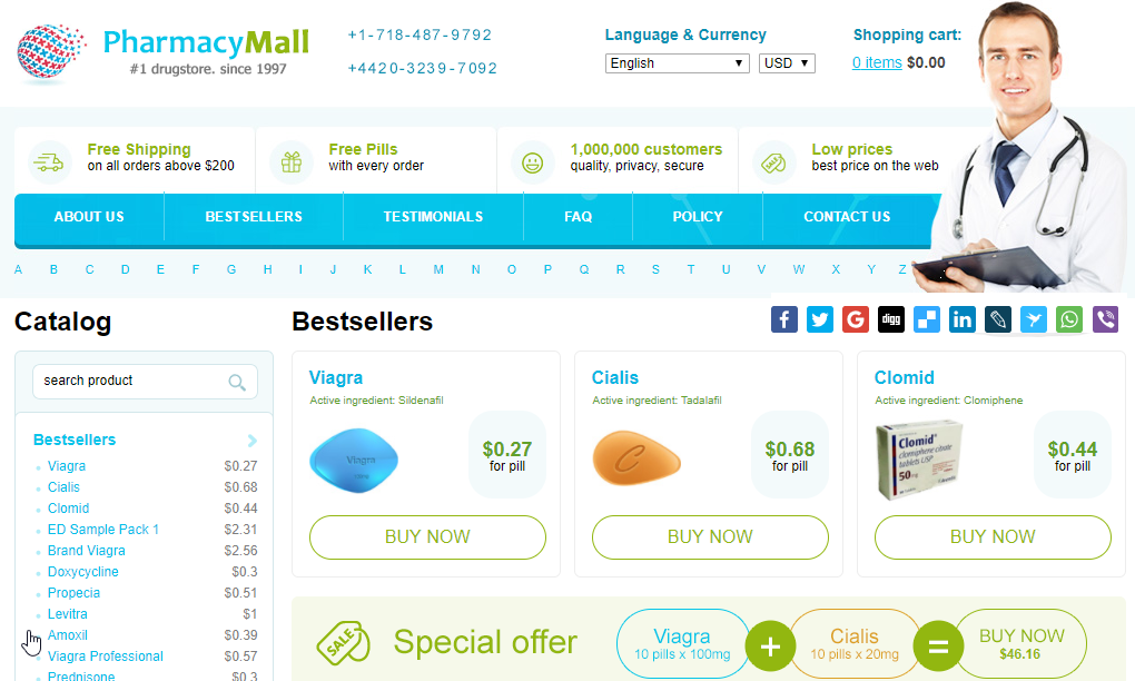 Cheap Pills Main Webpage