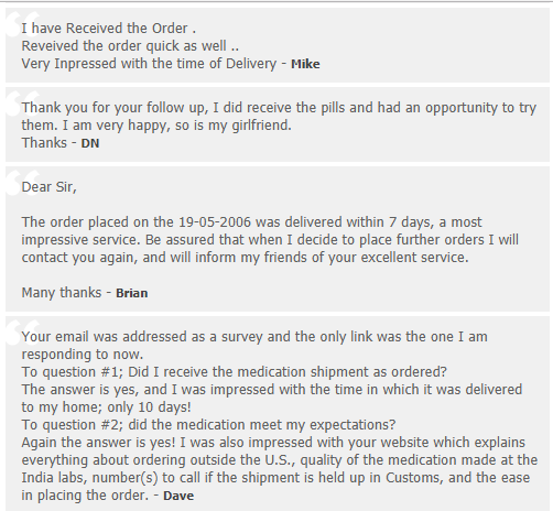 Trusted Tablets Customer Feedback